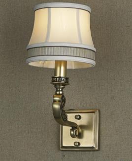 星豪铜府现代室内 MB3109-1铜本色壁灯