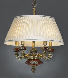 星豪铜府现代MD3108-5P室内吊灯