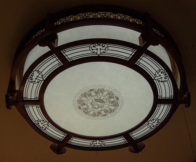 中式优雅大气室内吊灯