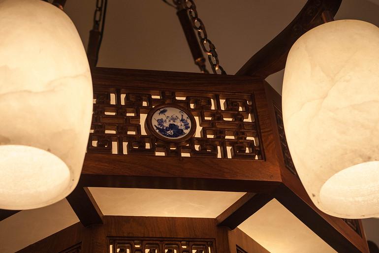 中式经典优雅室内吊灯