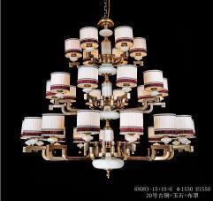 亿美佳现代室内68083-15+10+6吊灯