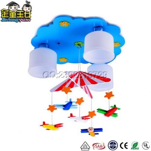 儿童吸顶灯-MD1792卡通飞机降落伞儿童吸顶灯