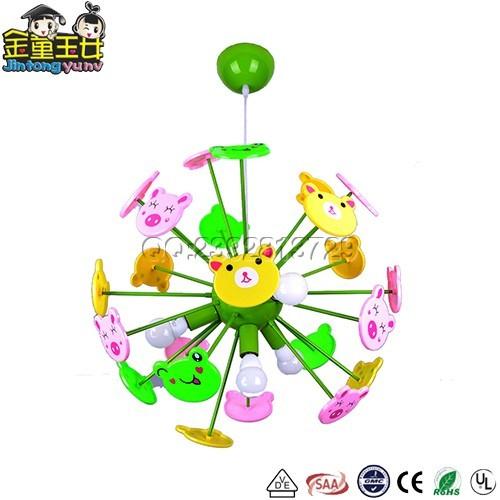 儿童吊灯-MD1788创意立体散射动物儿童吊灯