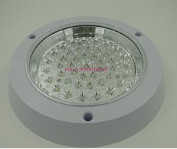 成品明装圆形厨卫灯5W2835灯珠 透明 磨砂罩