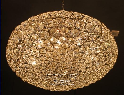 欧式豪华水晶客厅圆形吊灯