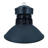 100W鳍片工矿灯黑色配90°鳞面罩