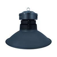 100W鳍片工矿灯黑色配120°鳞面罩