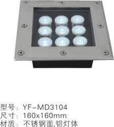 现代不锈钢LED埋地灯