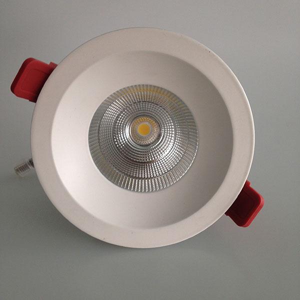 LED COB 铝合金散热筒灯