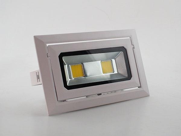 LED可调角度长方形筒灯