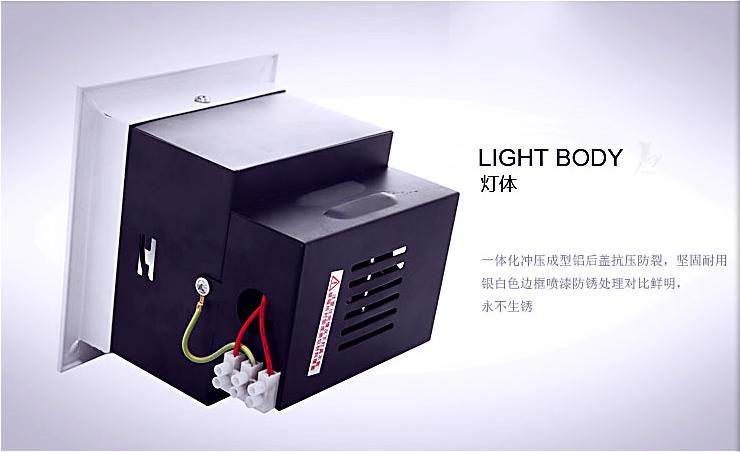 大功率5W LED豆胆灯