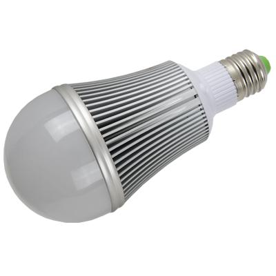 简约银色LED球泡