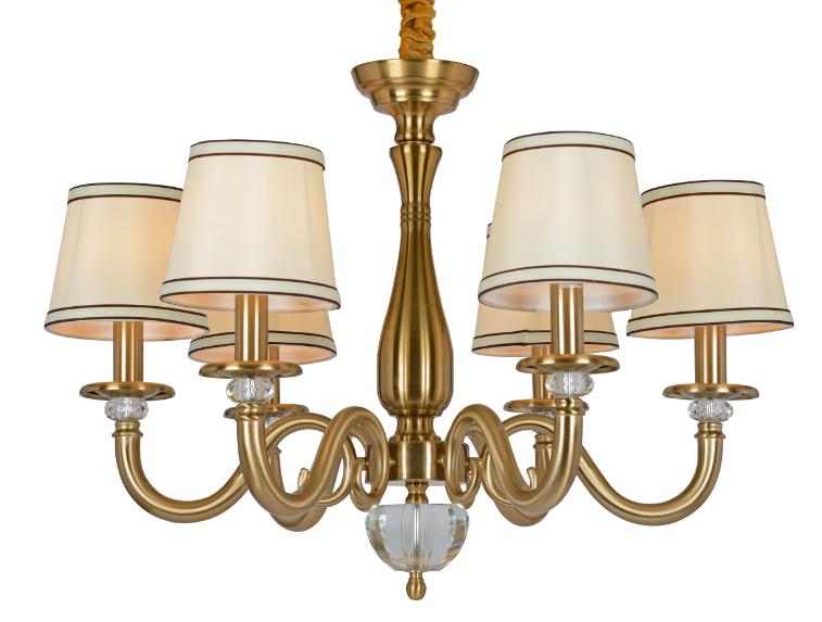 美式仿铜工艺吊灯