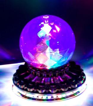 外观朔料电镀LED灯 金小太阳佛脚小圆球罩