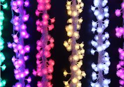 婚庆圣诞节日5米20灯防水LED装饰彩灯