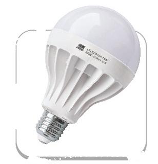 高端质量家用15W白光LED照明灯泡