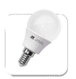 双灿高端质量家用3W白黄光LED照明灯泡