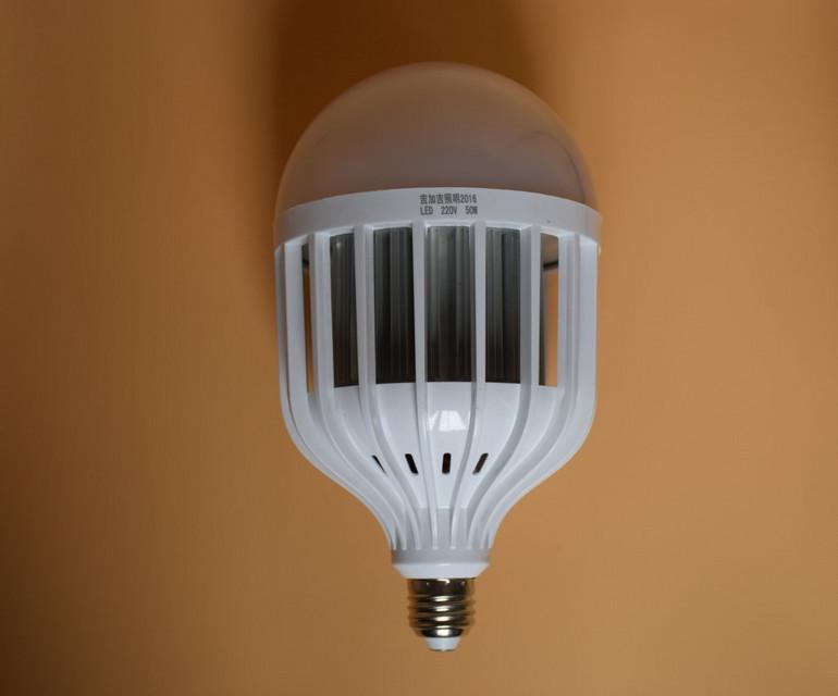大功率恒流鸟笼PC塑料LED球泡灯