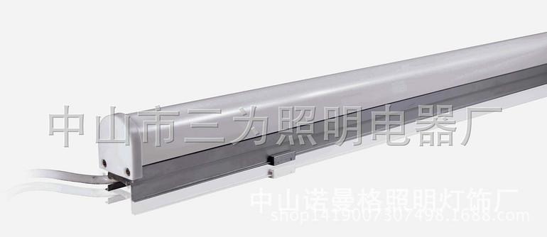 50*50方形带铝材护栏管套件方形护栏管led轮廓外壳套件