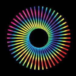 彩色多色轮廓LED护栏管