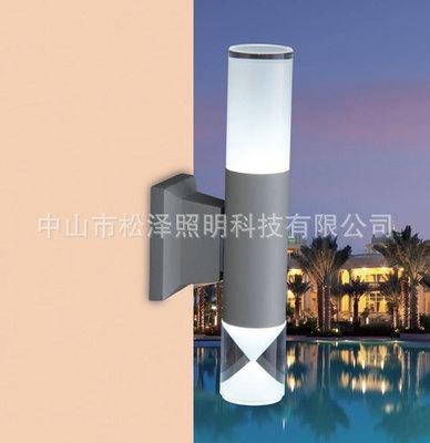 LED太阳能户外长寿命三角形纹壁灯