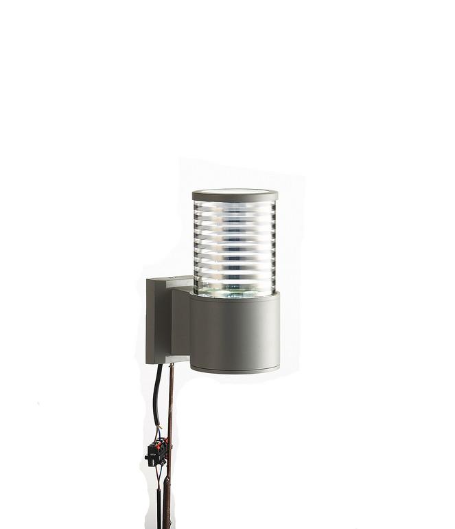 LED太阳能户外圆柱形壁灯
