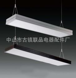 T8 T5办公铝材灯吸吊顶线格棚灯