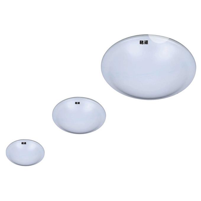 全白陶瓷卧室书房LED吸顶灯