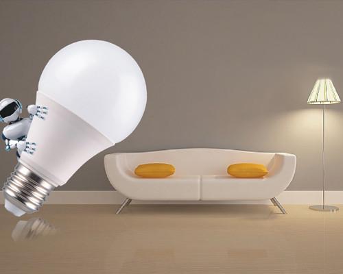 LED 塑包铝球泡灯
