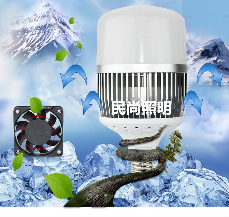 足瓦工程专用节能灯e27鸟笼大功率LED高富帅球泡灯