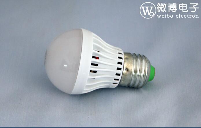 5W长寿命环保走廊过道LED声光控球泡