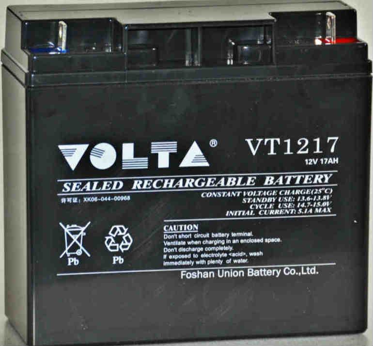 12V17AH铅酸蓄电池