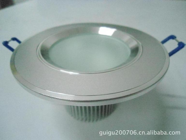 LED 筒灯外壳2.5寸 天花灯3*1W