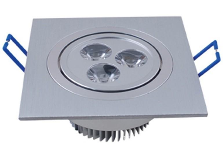 天花灯大方块1头3*1W/LED射灯/大功率LED灯外壳
