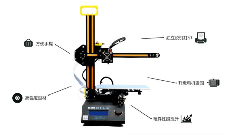 撒罗满桌面级3D打印机FDM SL-210