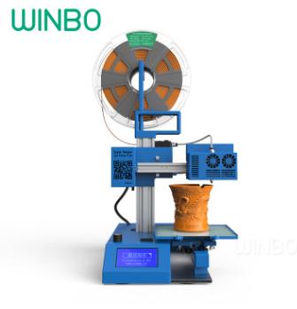 文搏WINBO 多功能3D打印机超级助手SH105高精度教育三维打印机