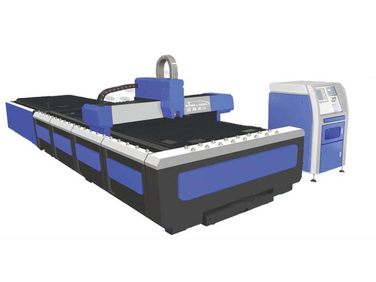 金智激光 自动交换式强力切割金属 交换工作台光纤切割机