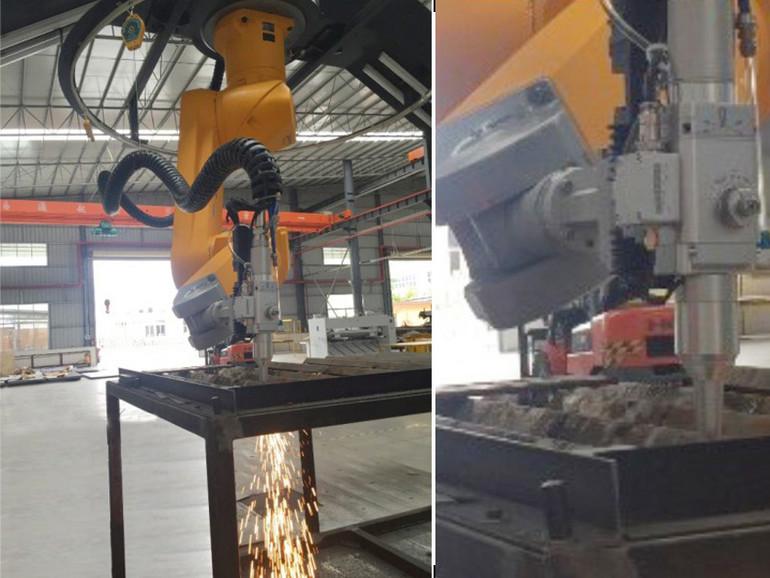 金智激光 三维立体切割焊接一次成型 机器人光纤切焊系统