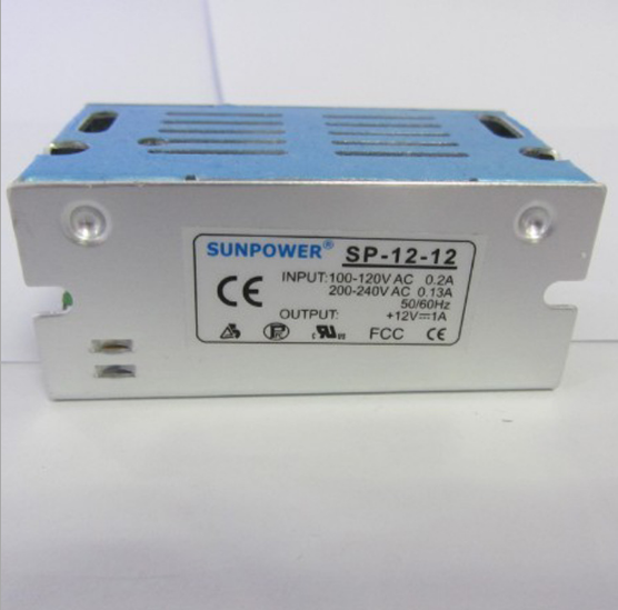 SP-12W 12V1A监控恒压开关LED电源开关电源