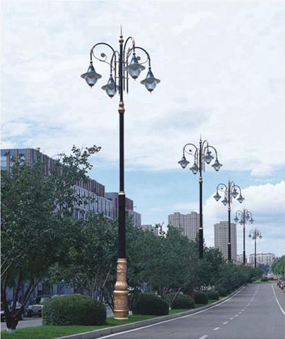 古典高5-8cm道路公园高杆灯路灯