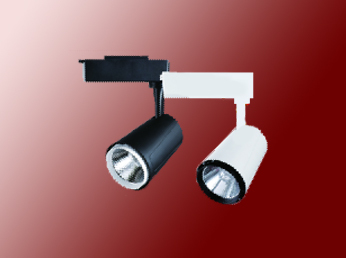 简洁高端设计35W黑白色展柜专用轨道灯