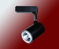 简洁高端设计20W黑色展柜专用轨道灯