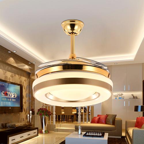 现代简约节能省电客餐厅卧室隐形风扇灯
