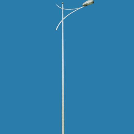 轩昂A字臂路灯 LED广场灯户外5米6米7米路灯杆 新农村景观高杆灯