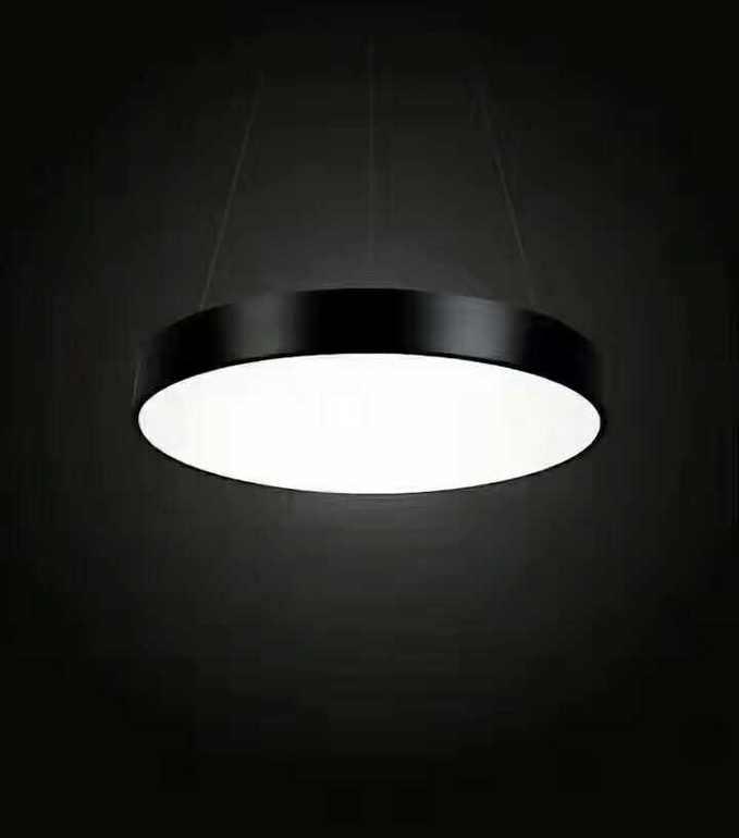 现代简约黑白室内平板灯
