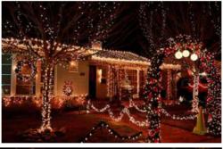简约节能室外智能LED圣诞灯