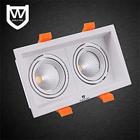 盾王方状LED筒灯