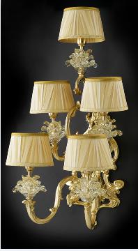 La意大利现代进口法式全铜壁灯