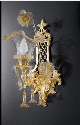 La意大利进口现代法式全铜壁灯