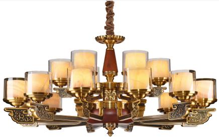 法式简约室内铜灯